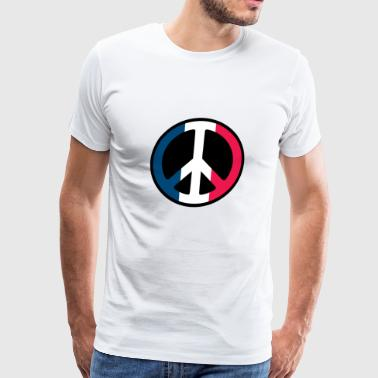 France Peace - Men's Premium T-Shirt