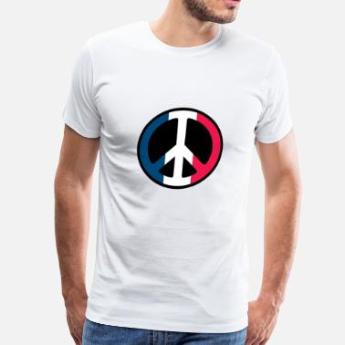 Peace France France Peace - Men's Premium T-Shirt