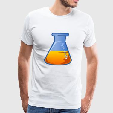 flask - Men's Premium T-Shirt