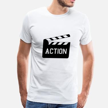 Hollywood Action - Men's Premium T-Shirt