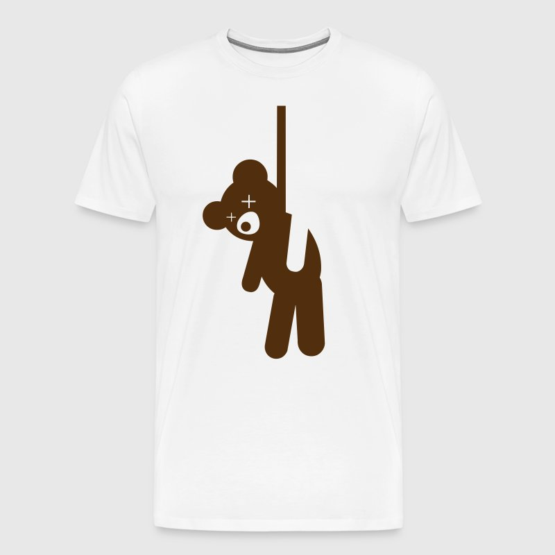 Hanged Teddy Bear - Men's Premium T-Shirt
