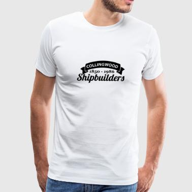 Boating Canada Collingwood Shipbuilders Ontario Canada - Men's Premium T-Shirt