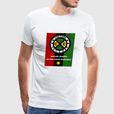 Culture Colours. Abolish Bigotry. Racism hurts - Men's Premium T-Shirt