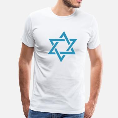 King David Star of David - Men's Premium T-Shirt