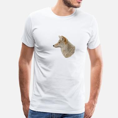 Coyote Animal Coyote Profile - Men's Premium T-Shirt