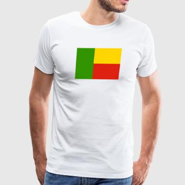 Trendy Flag of Benin (bj) - Men's Premium T-Shirt