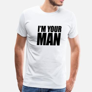 Choose-life I'm your man - Men's Premium T-Shirt