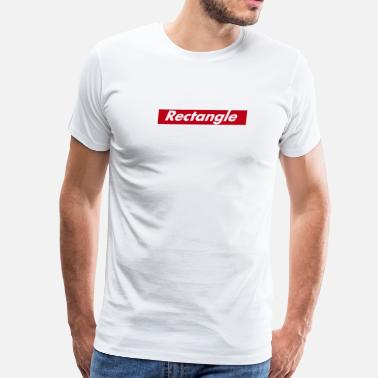 Rectangle Rectangle Logo - Men's Premium T-Shirt