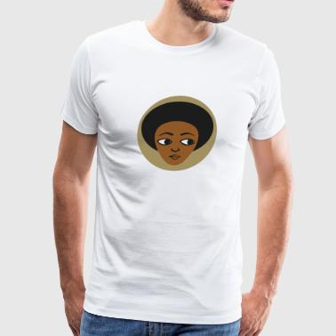 Habesha head logo - Men's Premium T-Shirt