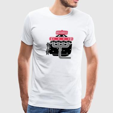 Engine V8 - Men's Premium T-Shirt