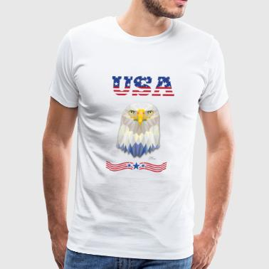 United States of America - Men's Premium T-Shirt
