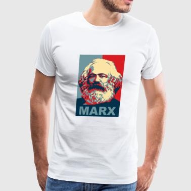 Karl Karl Marx Obama Style - Men's Premium T-Shirt