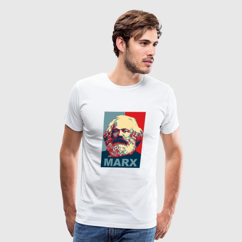 Karl Marx Obama Style - Men's Premium T-Shirt