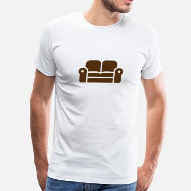 The Couch Couch - Men's Premium T-Shirt