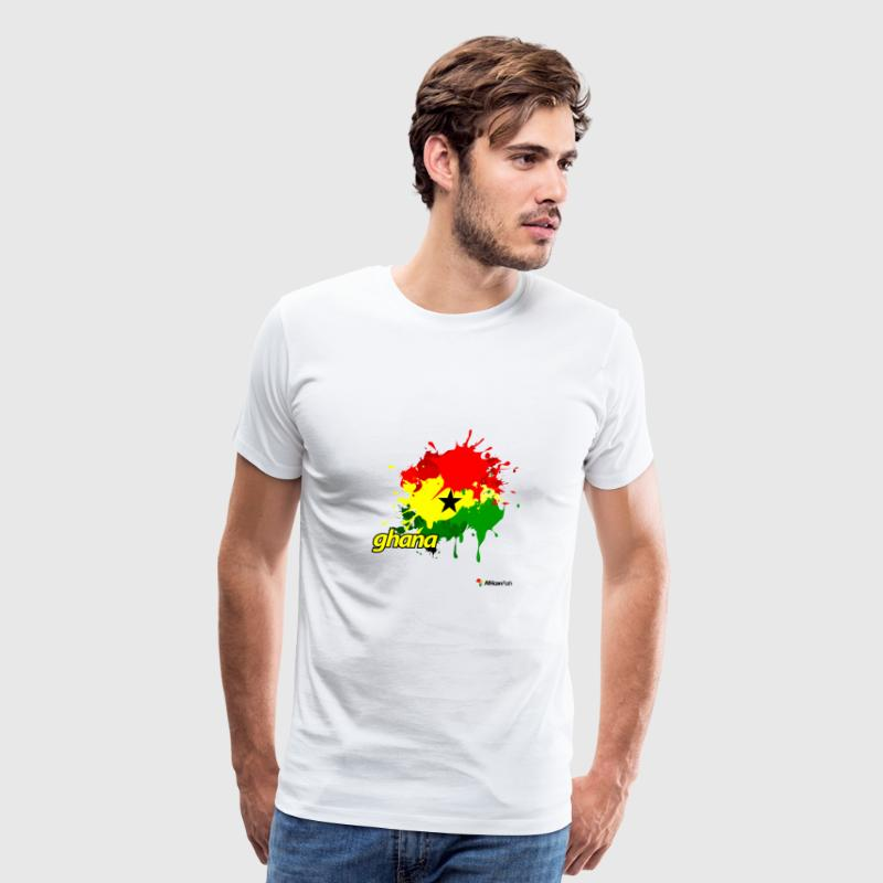 Ghana Splash - Men's Premium T-Shirt
