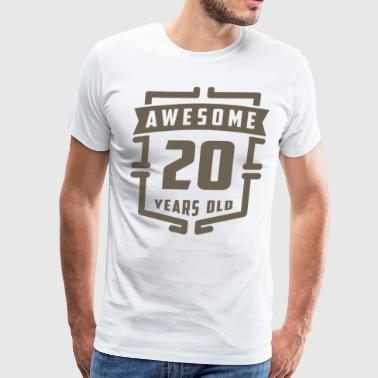Awesome 20 Years Old - Men's Premium T-Shirt