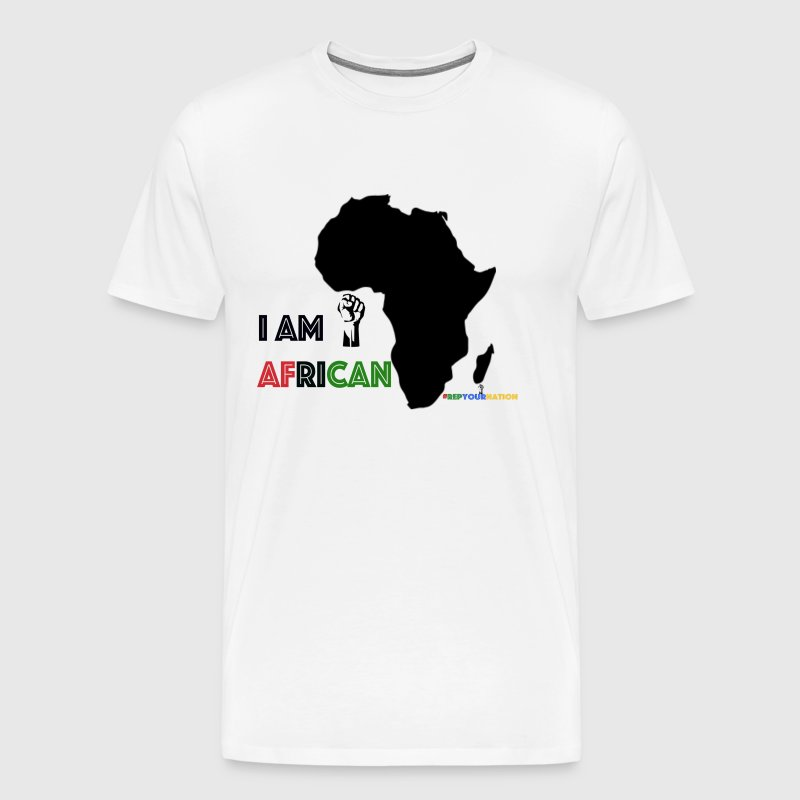 #RepYourNation: I AM AFRICAN (Original) - Men's Premium T-Shirt