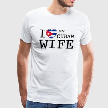 Cuban Wife - Men's Premium T-Shirt