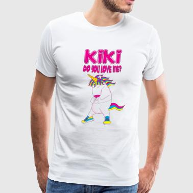 kiki do you love me? - Men's Premium T-Shirt