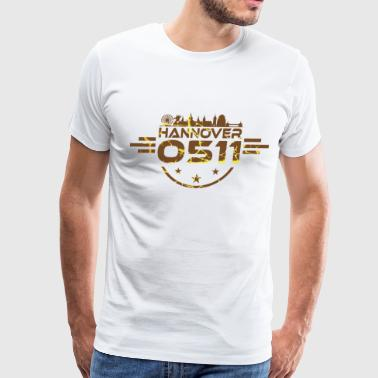Hannover my city Germany - Men's Premium T-Shirt