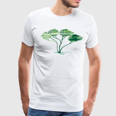 Artsy Tree - Men's Premium T-Shirt
