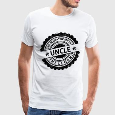 Uncle-The Man The Myth The Legend - Men's Premium T-Shirt