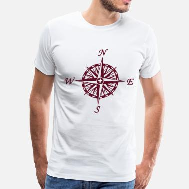 Compass Rose Compass Rose - Men's Premium T-Shirt