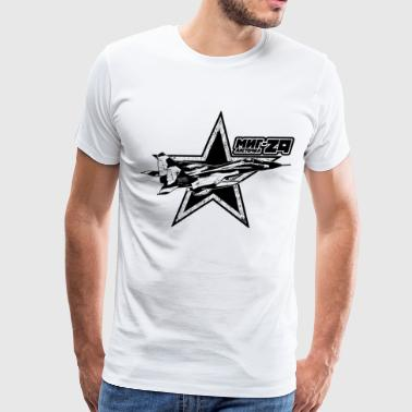 Number 29 MiG-29 - Men's Premium T-Shirt