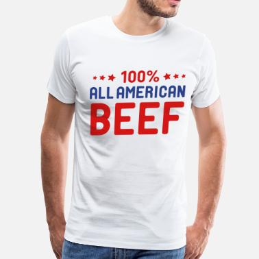 Beef All American Beef - Men's Premium T-Shirt