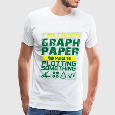 Draw Draughtsman Tshirt Gift - Men's Premium T-Shirt