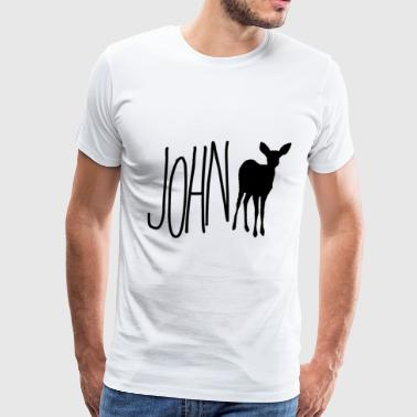 John Doe - m!Max (Life is Strange) Blk Ver. - Men's Premium T-Shirt