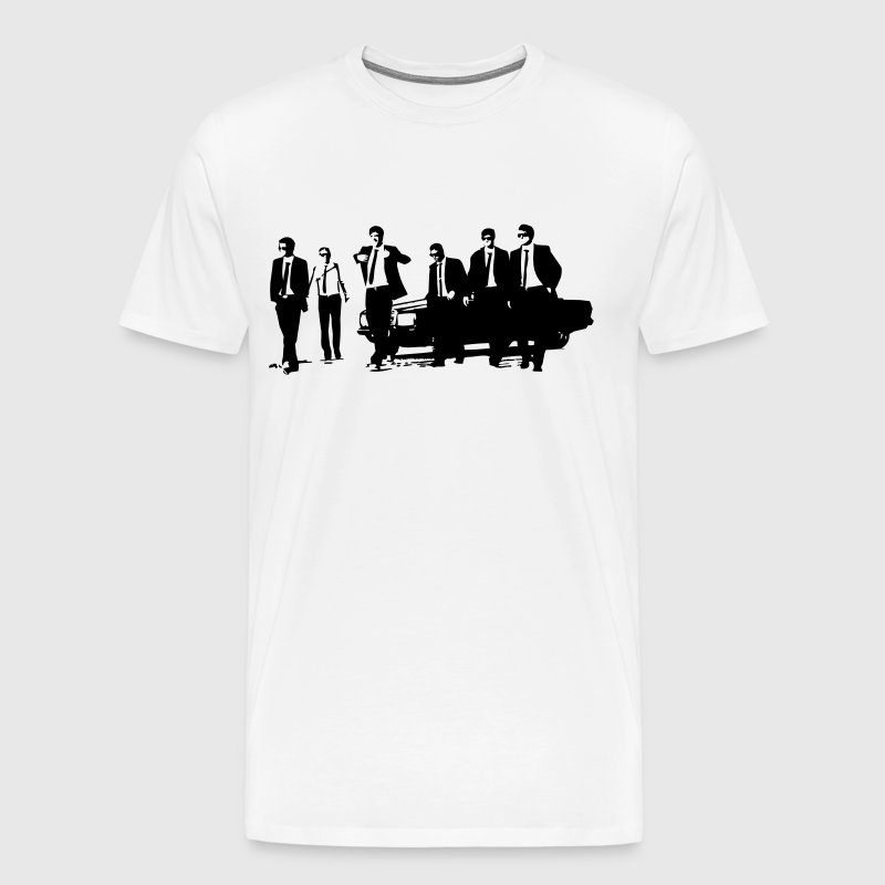 Group of managers in suits - Men's Premium T-Shirt
