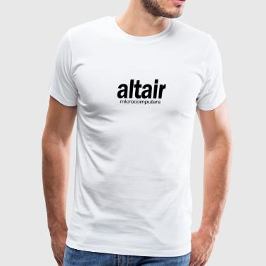 Altair Micro Computers Retro 80s Homebrew Fun - Men's Premium T-Shirt