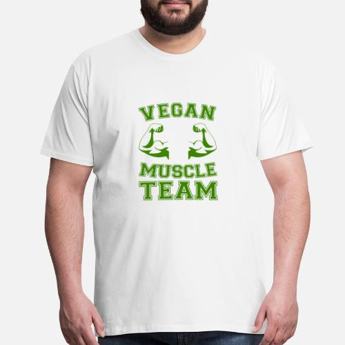 Vegan T Shirt Present Birthday Gift Idea Funny Mens Premium