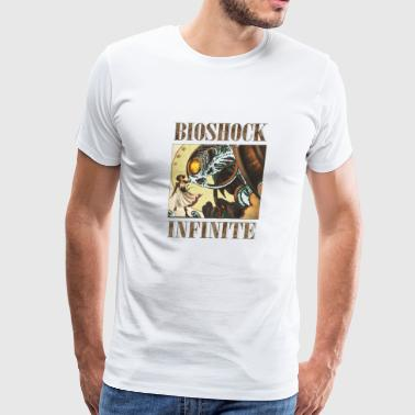 Bioshock infinite cool bird T Shirt - Men's Premium T-Shirt