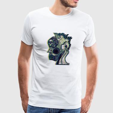 Heady Green - Men's Premium T-Shirt