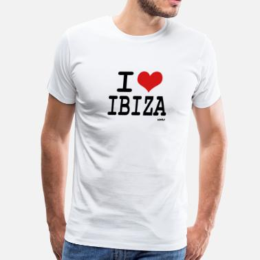 I Love Ibiza i love ibiza by wam - Men's Premium T-Shirt