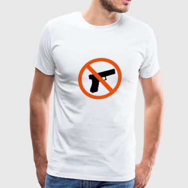 No Gun - Men's Premium T-Shirt