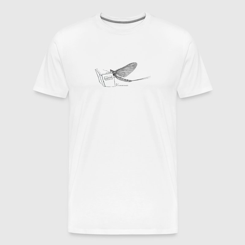the existential mayfly tee - Men's Premium T-Shirt