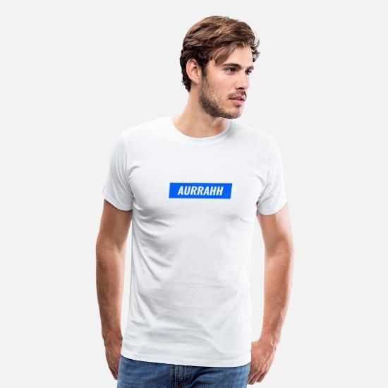 53f6344bd966 Logo T-Shirts - Aurrahh Classic Box Logo Tee (Supreme Inspired) - Men's