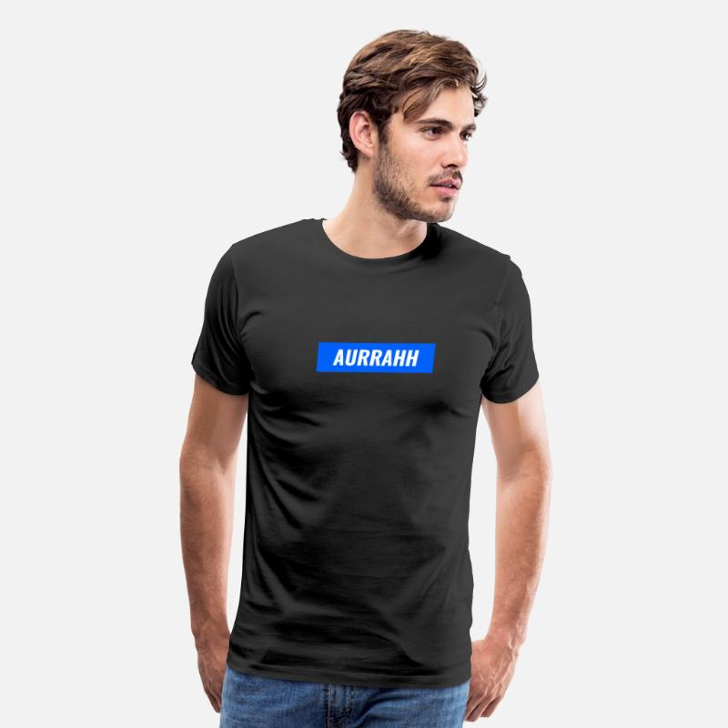 5b3cda2ed733 Aurrahh Classic Box Logo Tee (Supreme Inspired) Men's Premium T-Shirt |  Spreadshirt