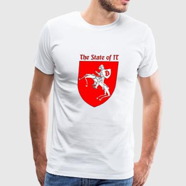 The State of IT - Men's Premium T-Shirt