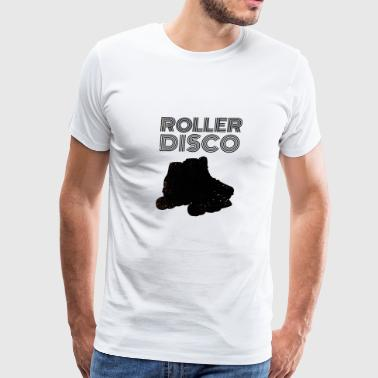 Back To The 80s Roller Disco - Men's Premium T-Shirt