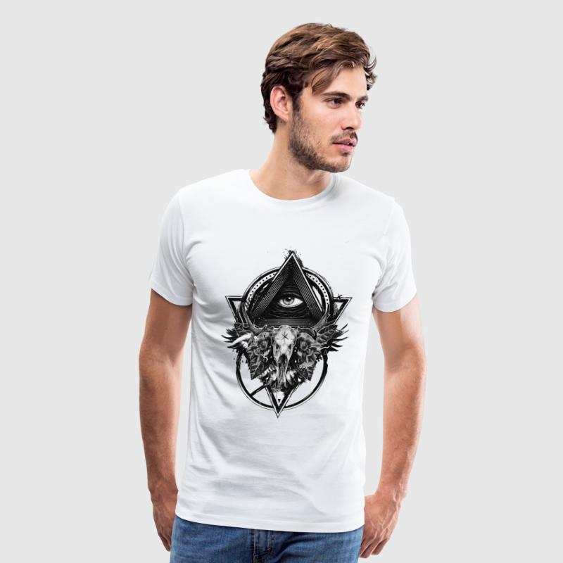 Amazing Illuminati All Seeing Eye! - Men's Premium T-Shirt