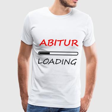 ABITUR loading - Men's Premium T-Shirt