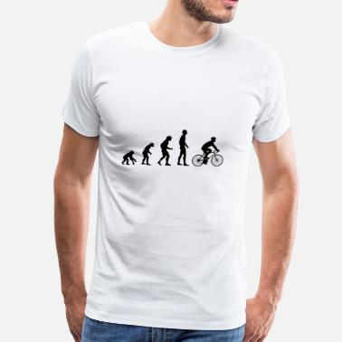 Evolution Bicycle Evolution - Men's Premium T-Shirt