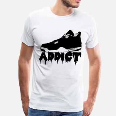 Sneakers Addict Sneakers Addict - Men's Premium T-Shirt