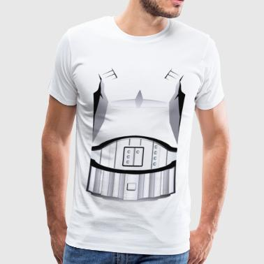 Storm Trooper Costume Tee - Men's Premium T-Shirt