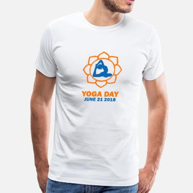 Yoga Day YOGA DAY - Men's Premium T-Shirt