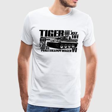 Tiger Army Tiger I - Men's Premium T-Shirt